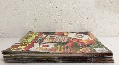 Cross Stitch Magazine Lot of 10 Issues 1991 Vintage
