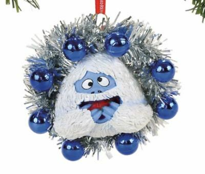Department 56 Rudolph Bumble in Wreath Christmas Tree Ornament 4057981 New