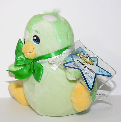 Speckled Bruce Penguin Easter Neopets Series 3 Plush Unused Code NEW