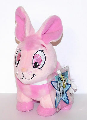 Pink Cybunny  Neopets Series 2 Plush Unused Code NEW