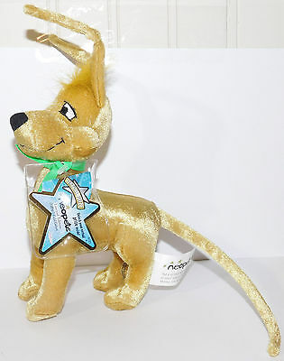 Gold Gelert Neopets Limited Edition Series 1 Plush Unused Code NEW 2007