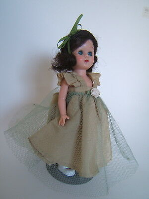 "Vintage 1955 A&H Doll Corp 8"" GIGI Doll in Formal Ginny, Muffie Friend"