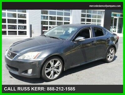 2010 Lexus IS Base Sedan 4-Door 2010 Used 2.5L V6 24V Automatic Rear Wheel Drive Premium