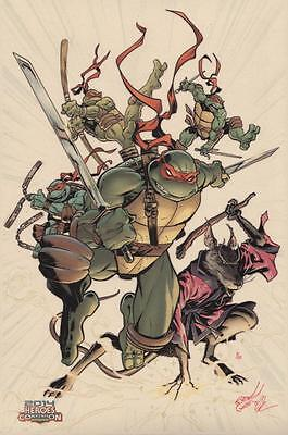 Michael Dooney #1/10 Original Art Print Teenage Mutant Ninja Turtles w/ Sketch