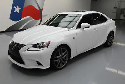 2015 Lexus IS  2015 LEXUS IS250 F-SPORT SUNROOF REAR CAM CLIMATE SEATS #066406 Texas Direct
