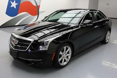 2015 Cadillac ATS Luxury Sedan 4-Door 2015 CADILLAC ATS 2.0T LUX SUNROOF HTD LEATHER 20'S 38K #126562 Texas Direct