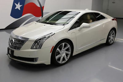 2014 Cadillac ELR Base Coupe 2-Door 2014 CADILLAC ELR HYBRID HTD LEATHER NAV REAR CAM 30K #601134 Texas Direct Auto