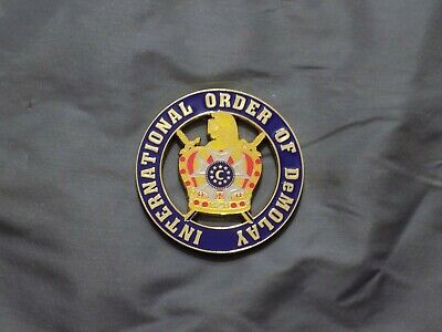 "Masonic 3"" Car Emblem Colorful Order of the Eastern Star Freemasonry Metal NEW!"