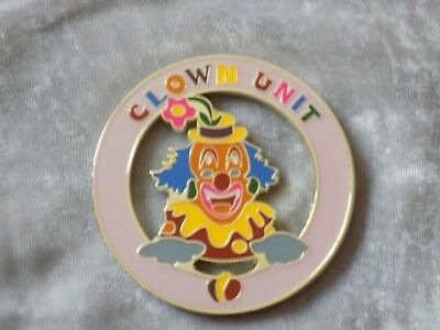 "Masonic 3"" Car Emblem Shriners Colorful Clown Unit Freemasonry Metal NEW!"