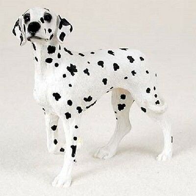 DALMATIAN FIGURINE dog HAND PAINTED Resin Statue puppy COLLECTIBLE New DALMATION