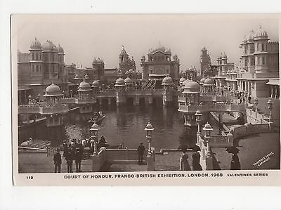 Franco British Exhibition, Court of Honour RP Postcard, A562