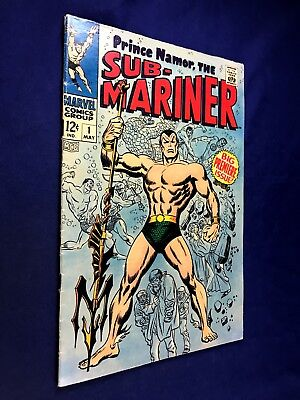 Sub-Mariner #1 (1968 Marvel) Fantastic Four appearance Silver Age NO RESERVE
