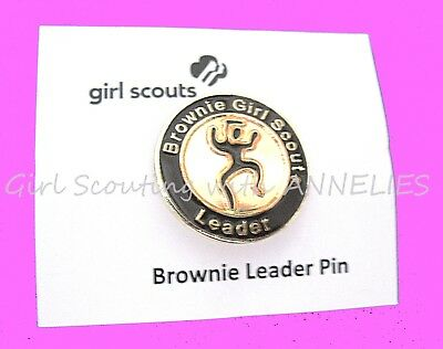 NEW Official BROWNIE LEADER Girl Scout PIN Adult Thank You GIFT Combine Ship