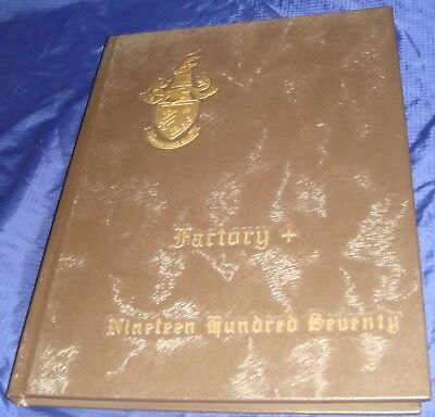 BR609 Vtg Peterboro ON Yearbook 1970 Sir Sandford Fleming College