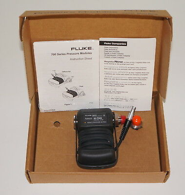 Fluke 700P05 Gauge Pressure Module 30 Psig New In Box