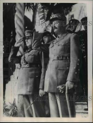 1944 Press Photo Allied Commanders Meet at Allied Force Headquarters in Algiers
