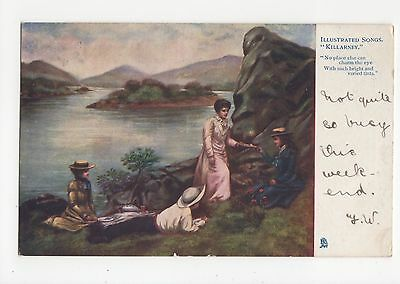 Tuck Illustrated Songs, Killarney Postcard, A452a