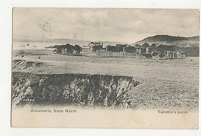 Beaumaris From North 1906 Postcard 0840