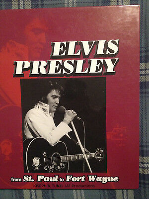 "Elvis Presley ""From St. Paul to Ft. Wayne"" Joseph Tunzi photo book"