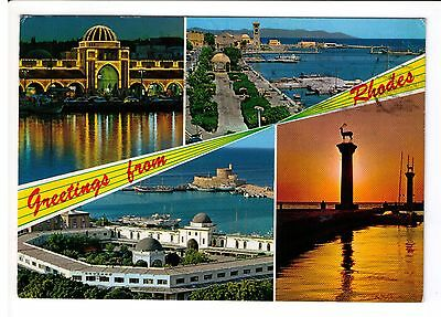 Postcard: Multiview - Greetings from Rhodes, Greece