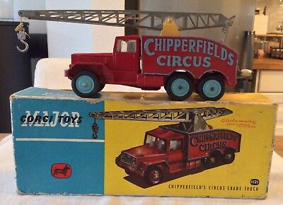 Antiker Corgi Toys Chipperfield Kranwagen Exzellent /Boxed # 1121-1:43