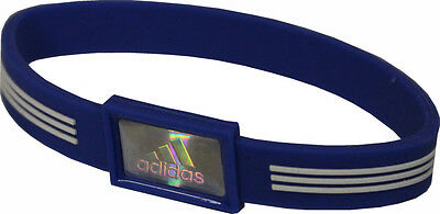 Adidas Performance Sport Bracelet IONS SILICONE BRACELET IN BLUE
