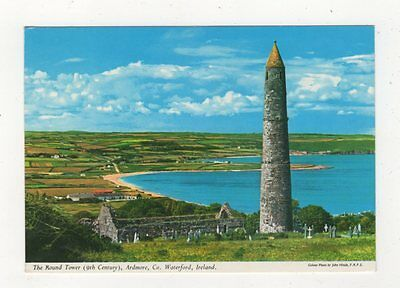 The Round Tower Ardmore Co Waterford Ireland Postcard 910a