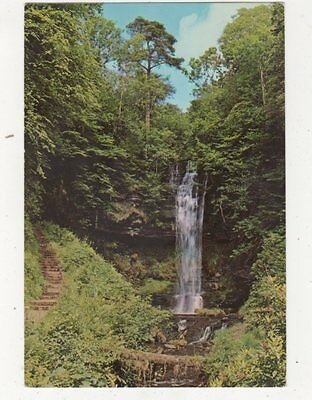 The Waterfall Glencar Lough Co Sligo 1971 Ireland Postcard 911a