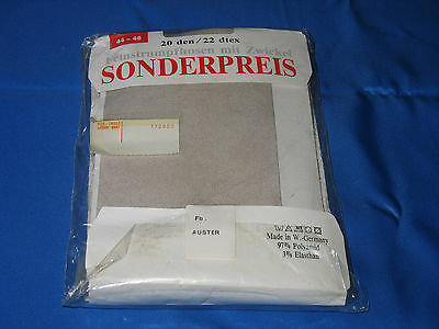 6er-Pack- 80er Nylon-Feinstrumpfhosen *Gr. 44-46 / IV *Collant*Tights*Panty(188