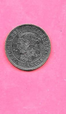 Canada Canadian Large Cent Km7 1884 Vg-Very Good-Nice Old Antique Vintage Coin