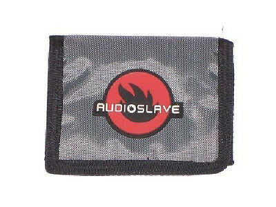 Audioslave Grey Nylon Tri Fold Wallet New Official Chris Cornell
