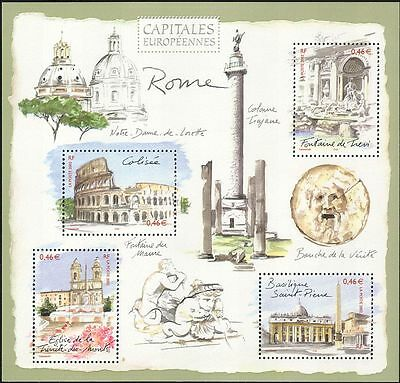 France 2002 Rome/Buildings/Architecture/Coliseum/Cathedral/Fountain m/s  n39183n