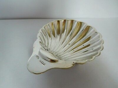 Classic Example Of An English Sterling Silver Scallop Dish - Birm 1942