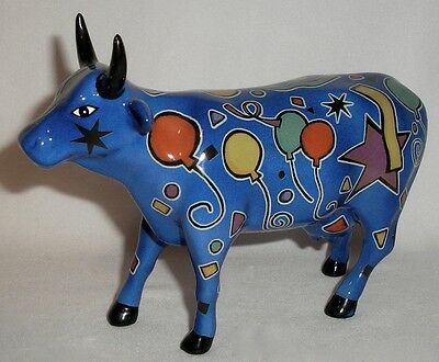 Cow Parade - Party Cow Figurine - #9178
