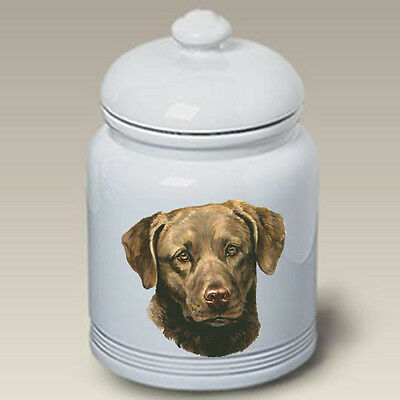 Ceramic Treat Cookie Jar - Chesapeake Bay Retriever (LP) 45070