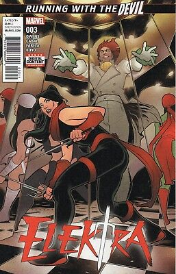 Elektra #3 (NM) `17 Owens/ Cabal