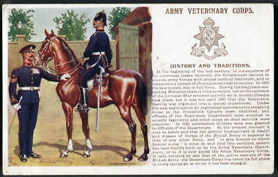 ARMY VETERINARY CORPS History & Traditions No.112. ERNEST IBBETSON art. 1912