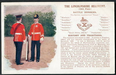 THE LINCOLNSHIRE REGIMENT History & Traditions (Ist edition, 1st picture) 1909