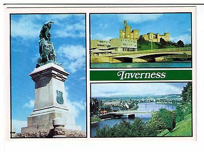 Postcard: Multiview - Inverness, Scotland