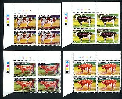 2017 ZIMBABWE  - EXOTIC DAIRY COWS new  B BLOCKS of 4  - 22nd AUGUST 2107