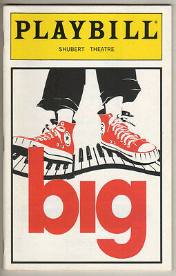 """Big"" Playbill 1996 Susan Stroman"