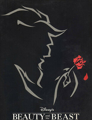 """Beauty and the Beast"" Broadway Souvenir Program 1994 OBC Terrence Mann"