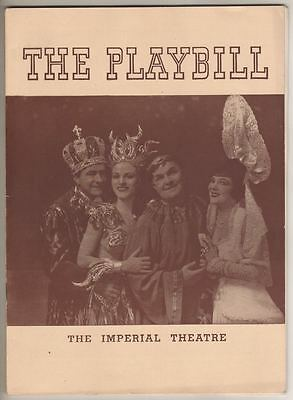 """Louisiana Purchase""  Playbill 1941  Irving Berlin, William Gaxton, Victor Moore"