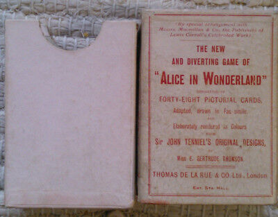 The New and Diverting Game of ALICE IN WONDERLAND c. 1901
