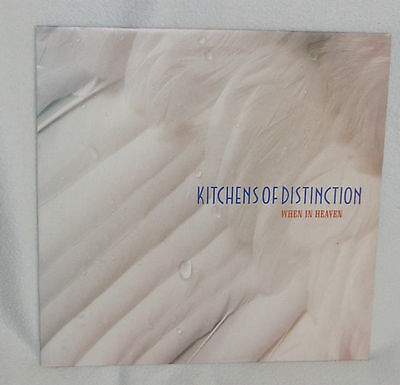 """Kitchens of Distinction - When in Heaven 12"""" Ex One Little Indian – 69TP12 1992"""