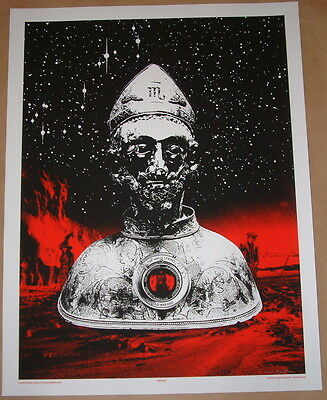 The White Stripes Rob Jones Albuquerque Concert Poster Print Signed & Numbered