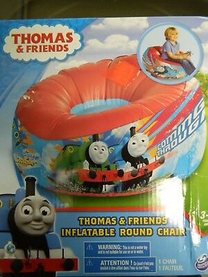 Thomas and Friends Inflatable Round Marshmallow Chair 3-5 years  NIP