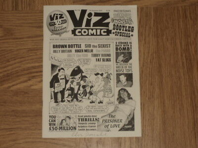 Viz Comic No 12b - Original and Genuine - VERY RARE WITH GOLD BALLOON
