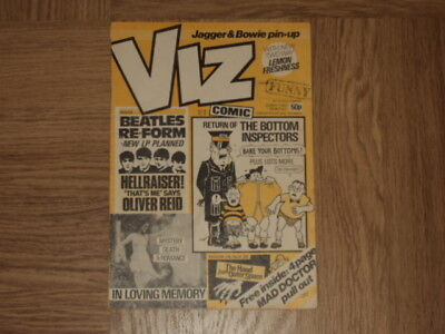 Viz Comic No 14 - Original and Genuine