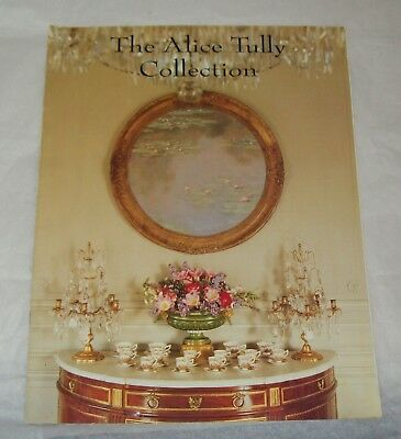 The Alice Tully Collection Auction Catalog/Christie's New York/1994-1995